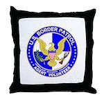 Immigrant US Border Patrol  Throw Pillow