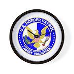 Immigrant US Border Patrol  Wall Clock