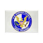 Immigrant US Border Patrol Rectangle Magnet (10 p