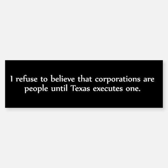 I refuse!