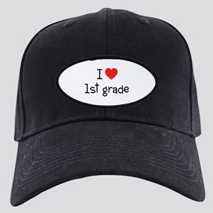 I Heart 1st Grade: Black Cap