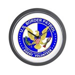 Border Patrol US Border Patro Wall Clock