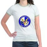 Border Security US Border Pat Jr. Ringer T-Shirt