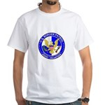 Border Security US Border Pat White T-Shirt