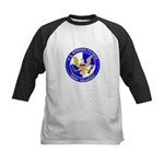 Border Security US Border Pat Kids Baseball Jersey