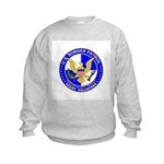 Border Security US Border Pat Kids Sweatshirt