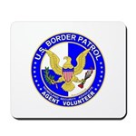 Border Security US Border Pat Mousepad