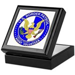 Border Security US Border Pat Keepsake Box