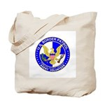 Border Security US Border Pat Tote Bag