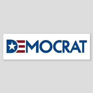 Democrat Sticker (Bumper)