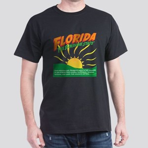 Florida The Sunshine State Dark T-Shirt