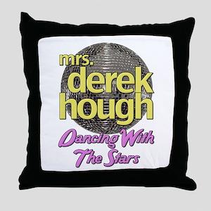 Mrs Derek Hough Dancing With The Stars Throw Pillo