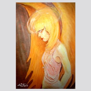 Angel Bows in Prayer