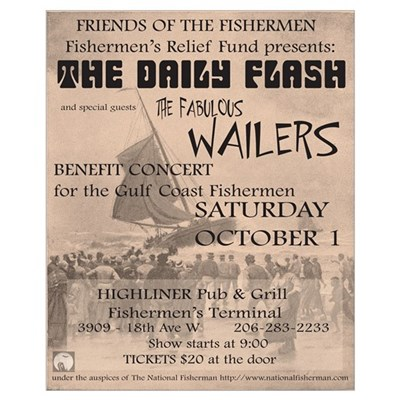 The Fishermen's Benefit Poster