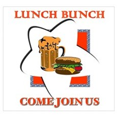 LUNCH BUNCH - Come Join Us Poster