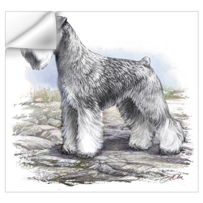 Miniature Schnauser Wall Decal