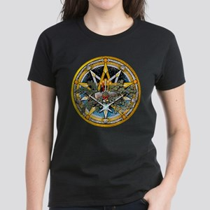 Yule Pentacle Women's Dark T-Shirt