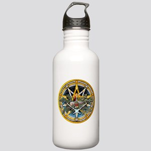 Yule Pentacle Stainless Water Bottle 1.0L