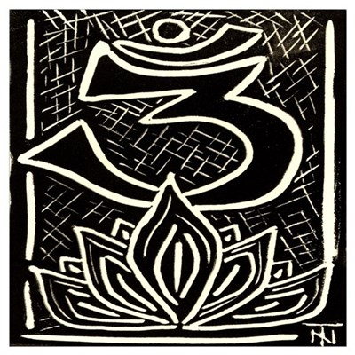Omkar & Lotus 1 Poster