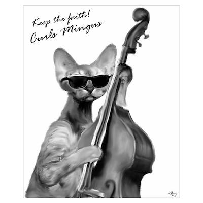 Curls Mingus Poster
