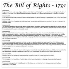 Bill of Rights 2 Framed Print