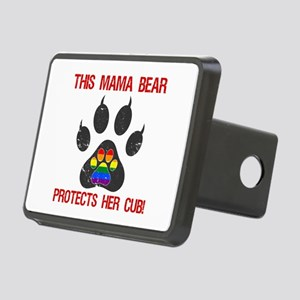 LGBT Pride For Moms Rectangular Hitch Cover