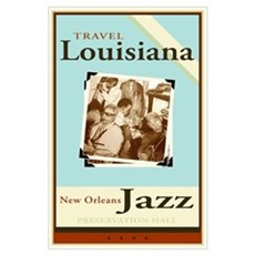 Travel Louisiana - Jazz Poster