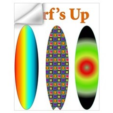 Surf's Up Wall Decal
