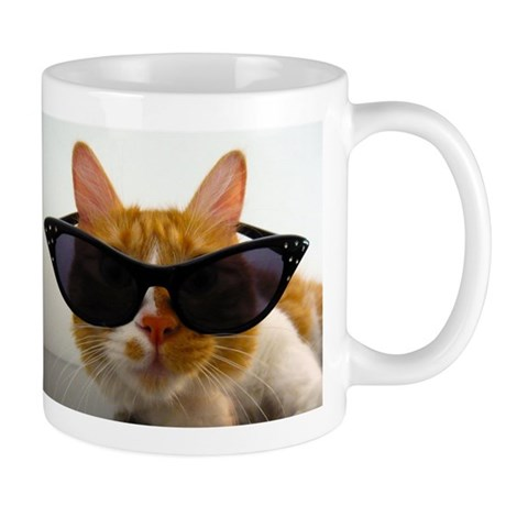 Cool Cat in Sunglasses Mug