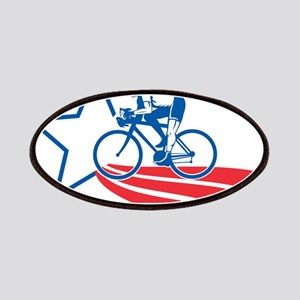 Cyclist cycling racing Patches