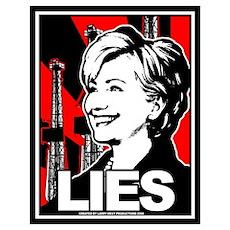 Clinton: LIES Poster