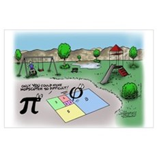 Fibonacci Hopscotch Poster