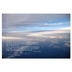Fly Through The Clouds Poster