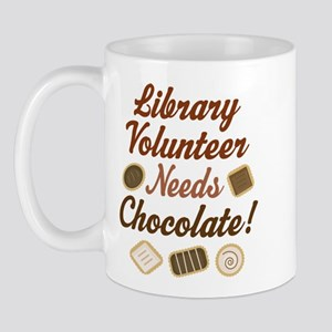 Library Volunteer Chocolate Mug