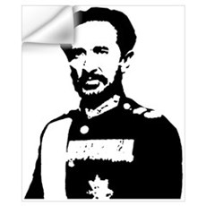 Haile Selassie Wall Decal
