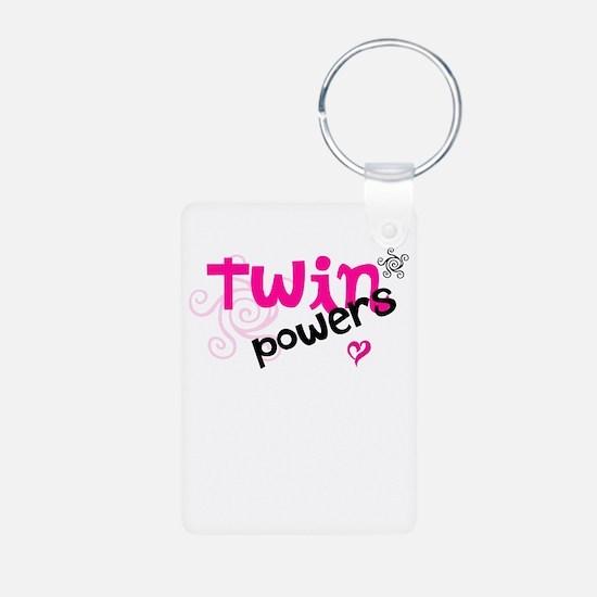 Twin Powers Keychains