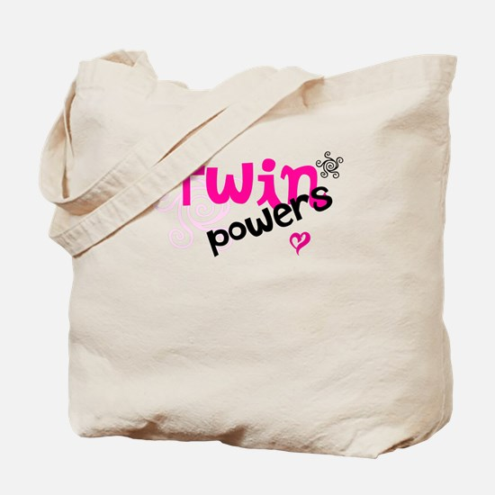 Twin Powers Tote Bag