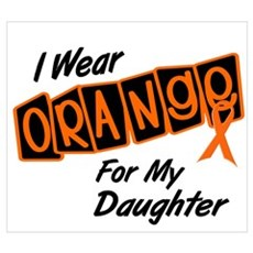 I Wear Orange For My Daughter 8 Poster