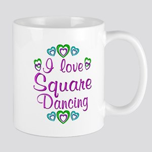 Love Square Dancing Mug