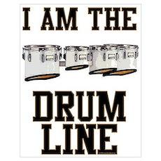 Quad Drummer Poster