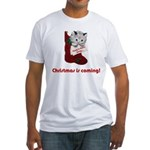 Hang In There Baby Fitted T-Shirt