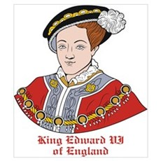 King Edward VI of England Framed Print