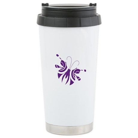 Cute Butterfly Stainless Steel Travel Mug