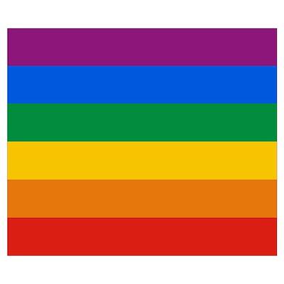 Pride Flag Poster