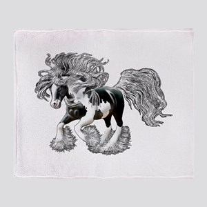 Gypsy Vanner Throw Blanket