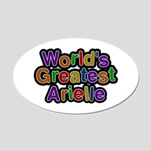 World's Greatest Arielle 20x12 Oval Wall Decal