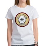 Brown Stockings Logo Women's T-Shirt