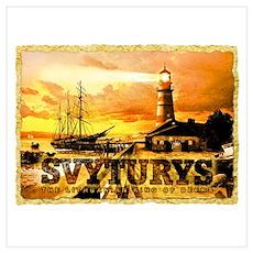 Svyturys Light House Poster