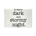 Dark and Stormy Night Rectangle Magnet (100 pack)