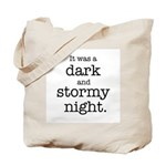 Dark and Stormy Night Tote Bag